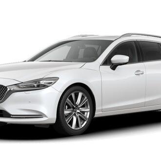 Mazda 6 - Snowflake White Pearl -  Nissan Odyssey